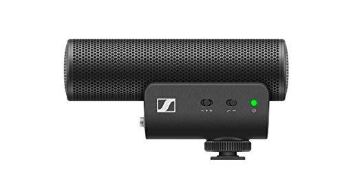Sennheiser Professional MKE 400 Microfono shotgun altamente direzionale esterno alla telecamera