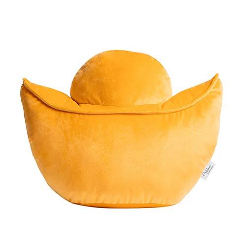 Almohada Almohada de Viaje Lingote de Oro amortiguador de la almohadilla de la cintura Siesta Sofá Almohada Cojín creativo de la cabecera del respaldo de juguete de regalo decoración del hogar Almohad