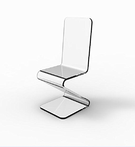FixtureDisplays Beautiful Acrylic Plexiglass Lucite Z Chair! Best...