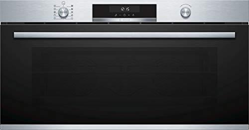 Bosch HBG5780S6 Serie   6 - Horno eléctrico, 61 cm, Limpieza Pirolítica, Color Acero Inoxidable y Negro