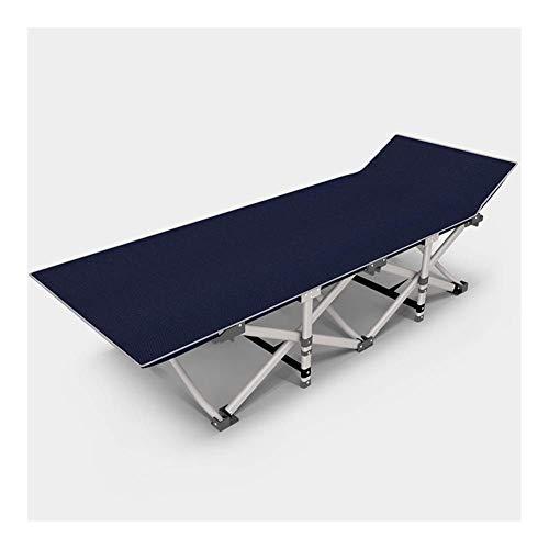 Tumbona portátil con cojín para exteriores, con tumbona plegable, para playa, piscina, patio, camping c2010 (tamaño : sin cojín)