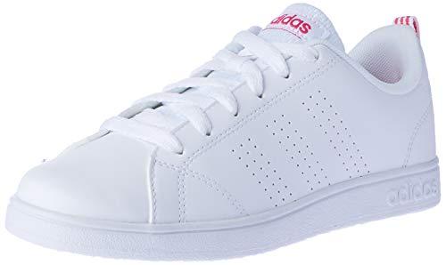 adidas Vs Advantage Cl K, Zapatillas de Deporte Unisex Niños, Blanco (Ftwbla/Ftwbla/Supros), 29 EU