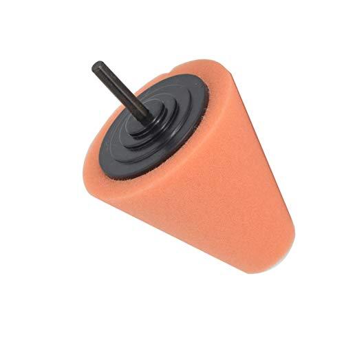 ZSHXX Pulido de esponjas Pad Lires de automóviles Máquina de Pulido de Ruedas con Forma de Cono Concentradores de Ruedas Discos de pulidor Auto Mantener (Color : 1)