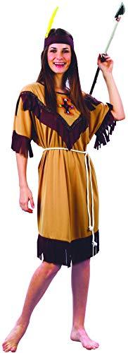 Vegaoo - Disfraz de India Flecos para Mujer - XL