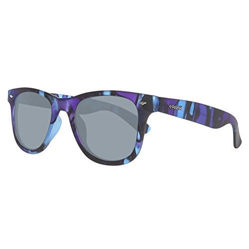 Polaroid PLD 6009/S S - Gafas de sol Rectangulares, color azul (mimetico), talla 48 mm