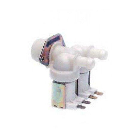 Electroválvula doble 180° universal lavadora Ariston Indesit C00045951