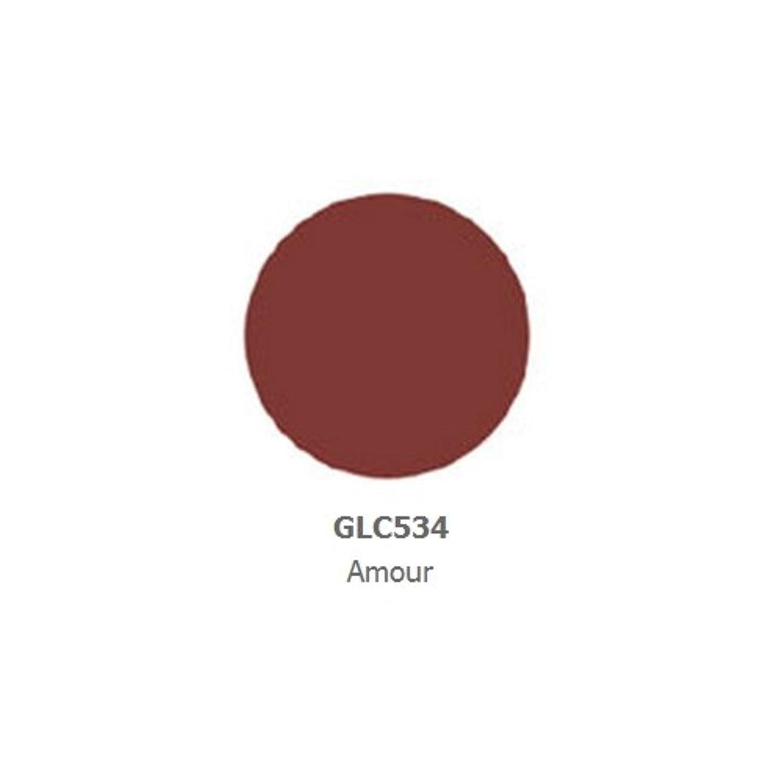 オーバーヘッドシマウマ女の子(6 Pack) LA GIRL Luxury Creme Lip Color - Amour (並行輸入品)