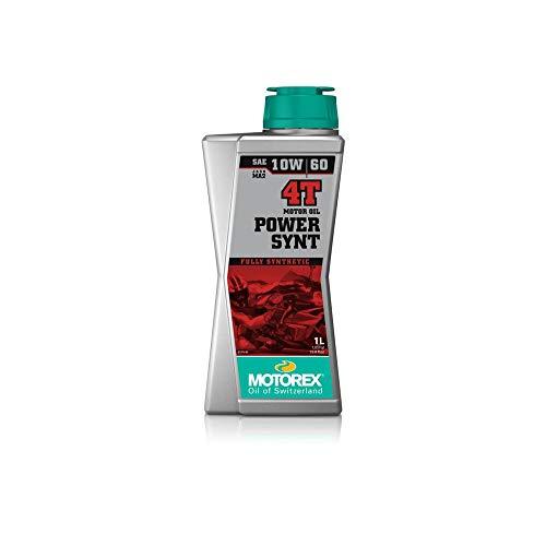 Motorolie Motorex Power Synt 4t 10w60 100% synthetisch 10 x 1 liter