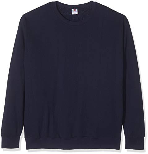 Fruit of the Loom - Set-In Sweatshirt - marine - Größe: M