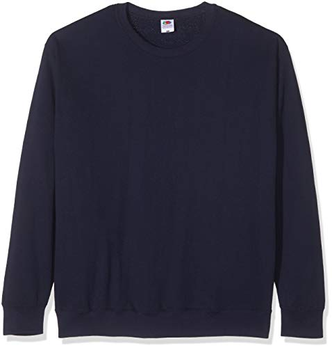 Fruit of the Loom - Set-In Sweatshirt - marine - Größe: XL