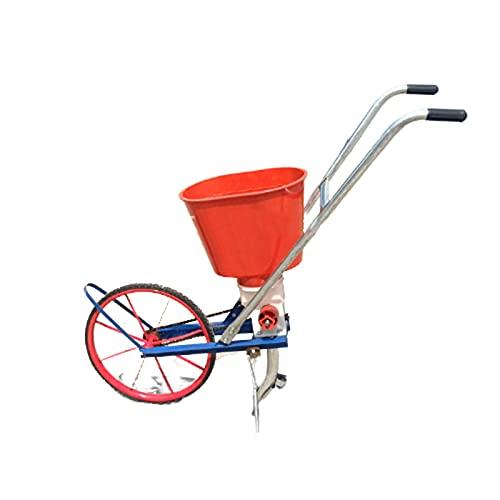 Carro Esparcidor de Fertilizante Sembradora de precisión sembradora de precisión aplicadora de Fertilizante de Rueda pequeña sembradora de una Sola Rueda