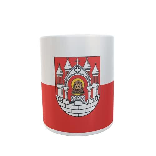 U24 Tasse Kaffeebecher Mug Cup Flagge Merseburg