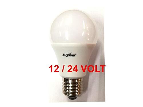 Bombilla LED con forma de gota, de 12-24 V, E27, 10 W, luz cálida de 3000 K, 890 lúmenes, con ángulo de 270°