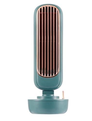 Ventilador de carga USB retro Autolip No-Humedad Aire Acondicionado Escritorio Escritorio Oficina Hogar Transporte Niebla-Verde, Federación Rusa