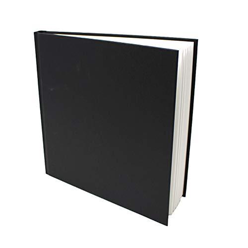 Artway Studio - Skizzenbuch mit festem Einband - säurefreies Papier - Hardcover - 46 Blatt mit 170 g/m² - 285mm Quadratisch