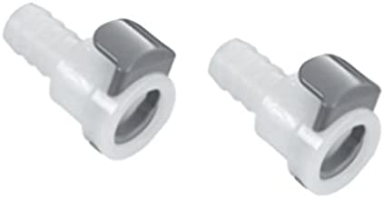 (2) Pack Air Hose Quick-Connect Female Connector Replacement Part for Sleep Number Bed F-236 (For Beds With 3/8 Inside Diameter Hoses Only)