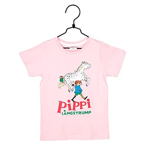 Pippi Calzaslargas para niña, ropa de pippi, algodón orgánico, Oeko-Tex Rosa. 122 cm