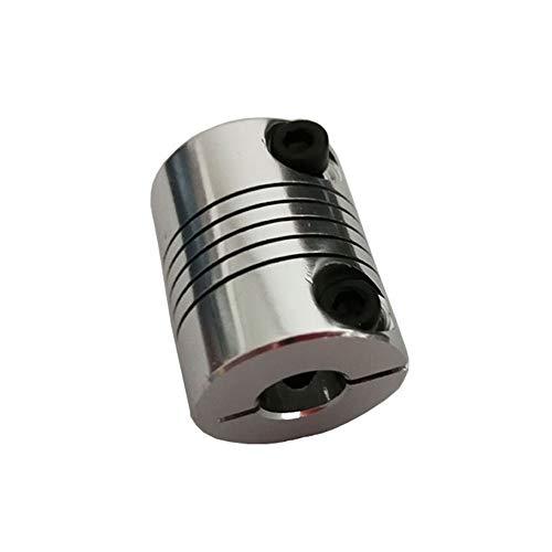 XBaofu Impresora 1pcs D20L25 6.35X8mm Aluminio Z Eje Flexible Acoplamiento for Motor de Pasos del acoplador órganos de Acoplamiento 3D de Piezas de Accesorios