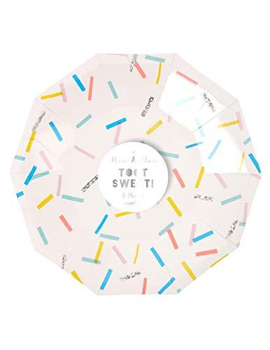 Lot de 8 petites assiettes en carton Toot Sweet - Meri Meri