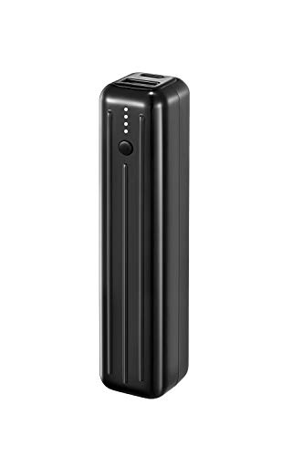Zendure SuperMini 5K 5000mAh Power Bank (Heavy Duty, Small and Powerful, 2-Port QC 3.0 with 18W Quick Charge Function for iPhone, iPad, Android, Nintendo Switch, Hand Luggage), Black