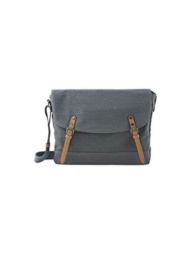 TOM TAILOR Herren Taschen & Geldbörsen Messenger Bag Max Dark Blue Cognac,OneSize