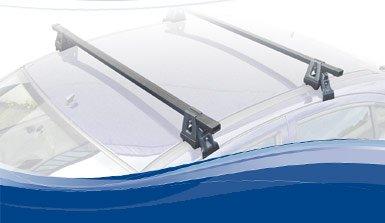 Barras de acero de techo para NISSAN ALMERA TINO 5 puertas desde 2000