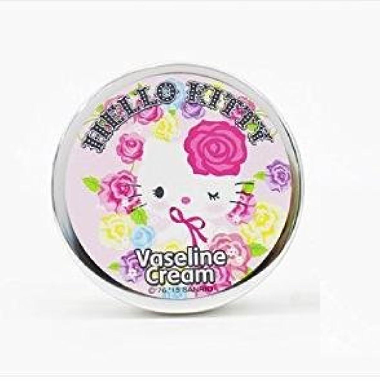 巻き取りヘビーロゴHello Kitty x Vaseline cream 65g/ハローキティ × ワセリン クリーム 65g