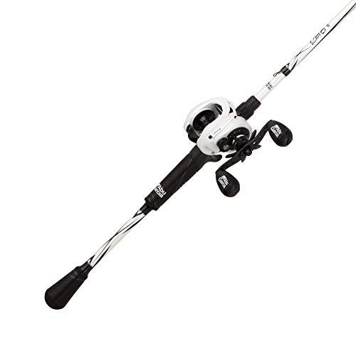 Abu Garcia Revo S LTD Baitcast Low Profile Reel and Fishing Rod Combo - REVO4GRPSLP/701MHWT