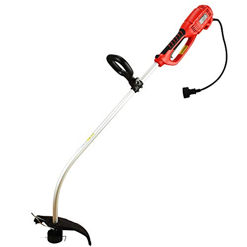 Check Out This PowerSmart PS8212 7.2 Amp 14-inch Corded String Trimmer, red, Black