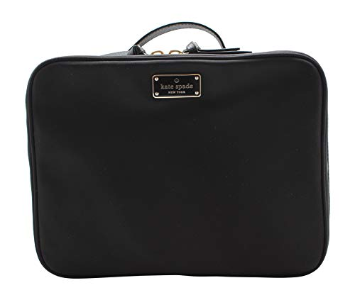 Kate Spade New York Large Wilson Road Martie Travel Cosmetic Case Bag (Black)