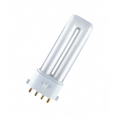 Osram Kompakt-Leuchtstofflampe Dulux S/E 830 2G7 warmwhite 7W