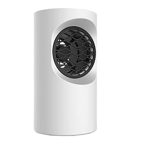 Riscaldatori Elettrici Mobili SEBAOYU Riscaldatore Elettrico per Bagno, Termoventilatore Portatile da 400 W per bagno, Ufficio, Soggiorno (Bianco)