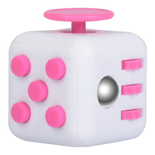 Fidget Cube 3D Focus Stress Relief Stress Relaxing Toys, Children Adult Gift Magic (33 * 33 * 33MM, Picture Color)