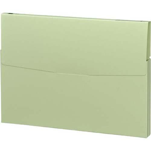 コクヨ ケースファイル 高級色板紙 A4縦 緑 30冊