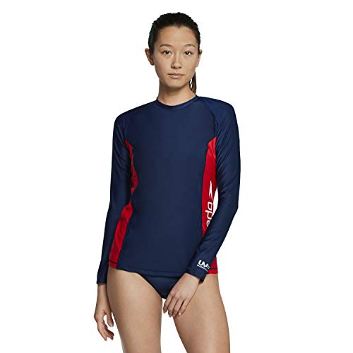 Speedo Women's Uv Swim Shirt Long Sleeve Rashguard