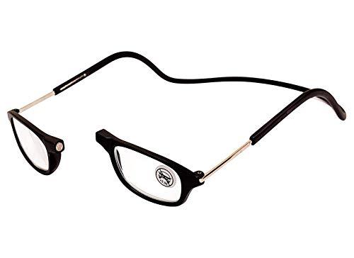 Gafas de Lectura Magnéticas Unisexo,Plegables y Ajustables con Cuello Colgante Presbicia para...