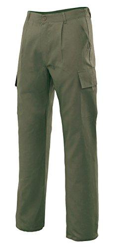 Velilla 31601 -Pantaloni multitasche (taglie 56) colore verde caccia