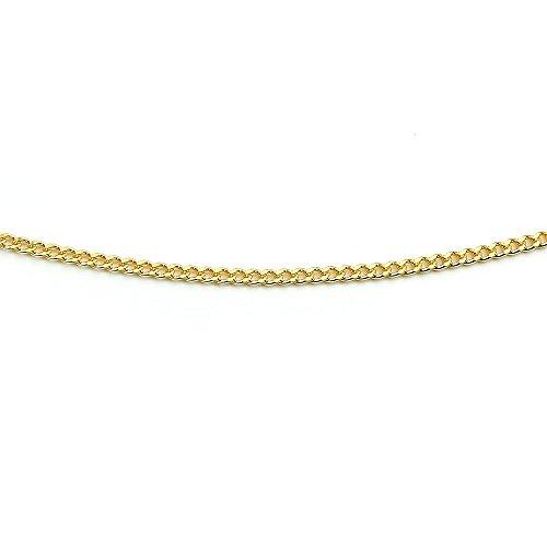 [アトラス] Atrus ネックレス メンズ 24金 純金 造幣局検定刻印付 2面カット 1.1ミリ幅 キヘイ 喜平 50cm 地金 ネックレスチェーン