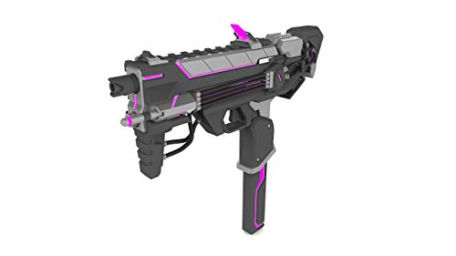 Sombra Augmented / Cyberspace - Overwatch - Cosplay - 3D gedruckt mit LEDs