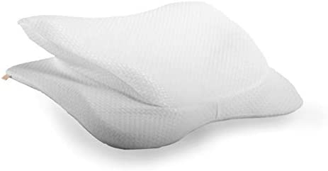 Copper Fit Angel Ultimate Memory Foam Pillow for Side and Back Sleepers White Queen Standard product image