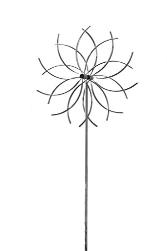 Winddancer Windspiel Power Flower 2665 DM = 65 cm, Gartendekoration, hochwertige Geschenkidee - Edles Geschenk für Gartenfreunde, Geschenkidee