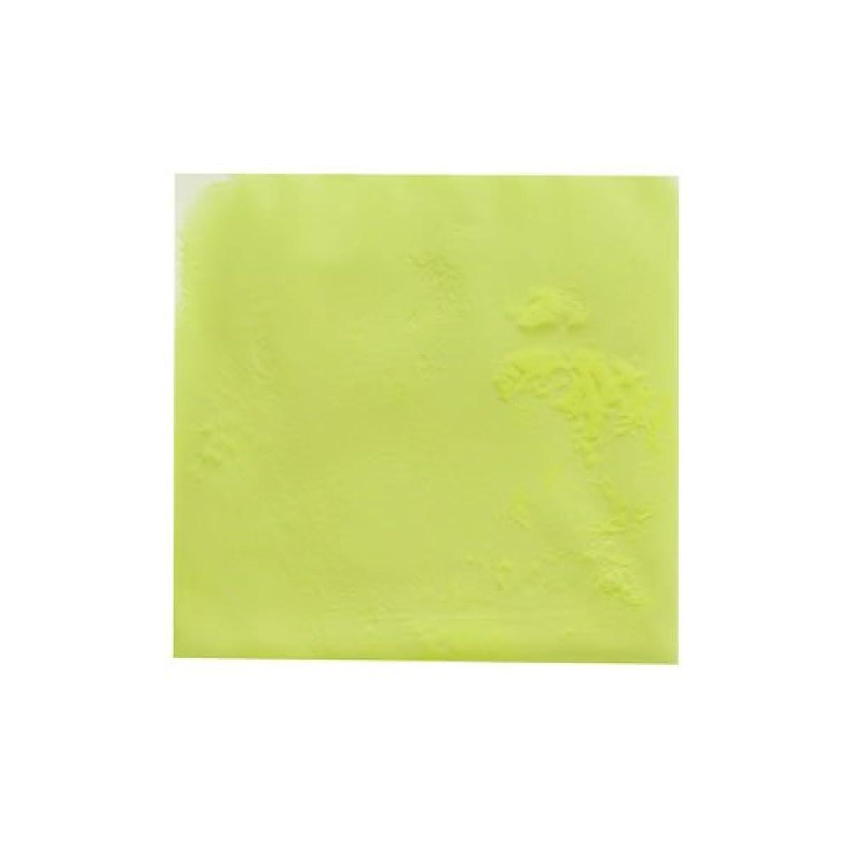 攻撃岸プラスチックピカエース ネイル用パウダー ピカエース 夜光顔料 蓄光性 #105 レモン 3g アート材