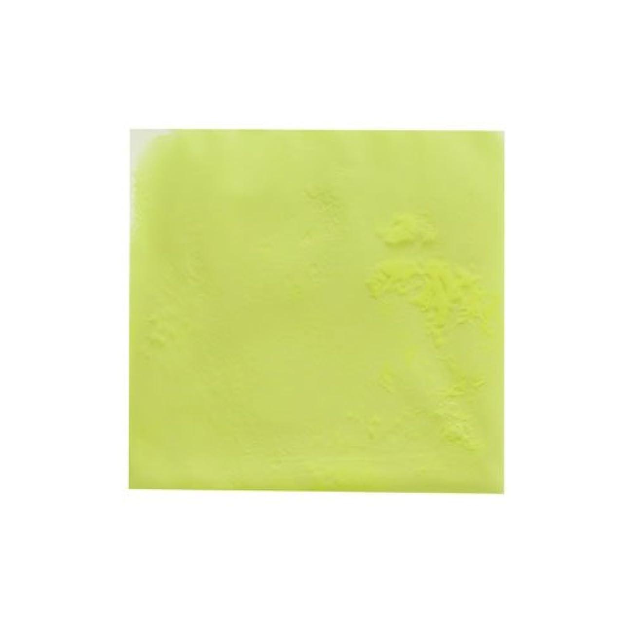 メジャー感謝している風邪をひくピカエース ネイル用パウダー ピカエース 夜光顔料 蓄光性 #105 レモン 3g アート材