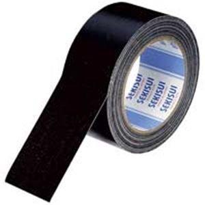 (業務用10セット)セキスイ 布テープ No600V N60KV03 50mm×25m 黒 ds-1460868