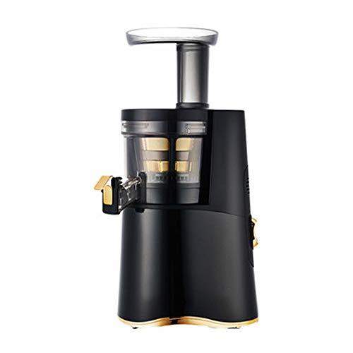KOKO Saftmaschine Koreanischer Entsafter Gewerbliche Schlackensafttrennung Multifunktionsentsafter Original Saftpresse High-End Schwarz Schicken Sie Geschenken für Familie und Freunde