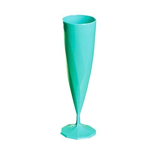 Aluplast Flûte à Champagne de Couleur (200 unités) (Turquoise)