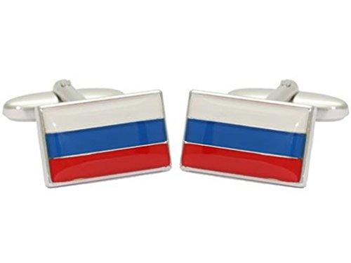 Grom boutons de manchette drapeau de la Russie