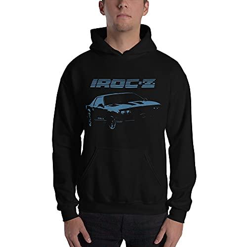 Chevy Camaro IROC-Z 3rd Generation 80s Cars Unisex Hoodie Black