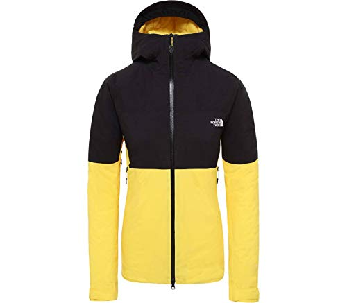 North Face Impendor Insulated Jacket Large Vibrant Yellow