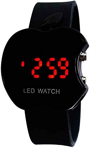 NEO VICTORY™ Black Digital LED Dial Apple Shape Kids Watch